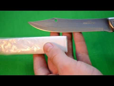 как сделать простой нож своими руками