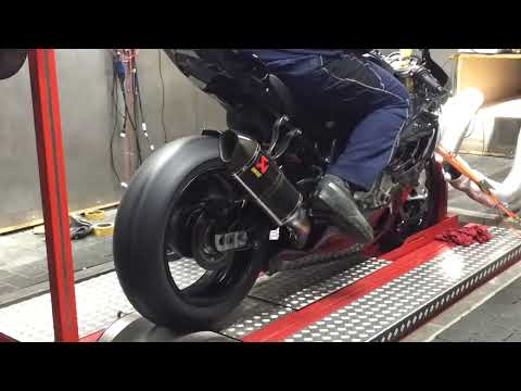 MGM Technik S1000RR Akrapovic Full shorty RexXer ECU Tuning
