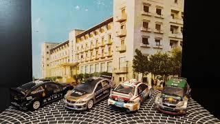 1.43 collection car DIORAMA RALLY CARS