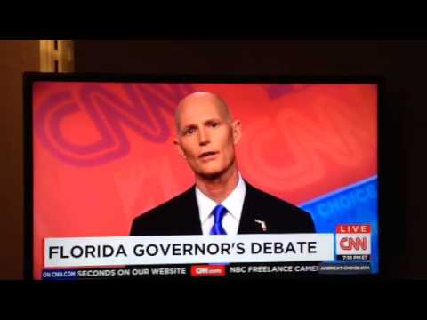 Rick Scott: «How would I know» what minimum wage should be?