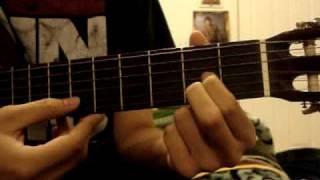 La Malaguena Once Upon a Time in Mexico guitar lesson part 1