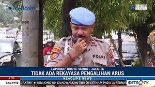 602 Polisi Diterjunkan Amankan Lalu Lintas Sekitar Lokasi Debat