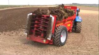 Teagle Titan Rear Discharge Muck Spreader