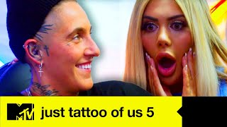 EP 9 Geordie Shore's Nat Has A Stick Or Twist Decision To Make - Just Tattoo Of Us 5