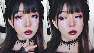 Halloween Makeup - Witch's Tear // Vivekatt