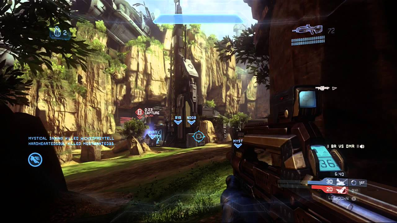 Halo 4 Multiplayer Gameplay 67 - Lockdown on Exile ...