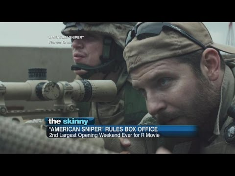 american Sniper Rules Box Office video