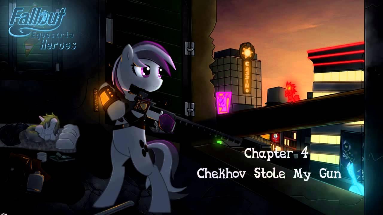 Chekhov Gun Wall 4 Chekhov Stole my Gun