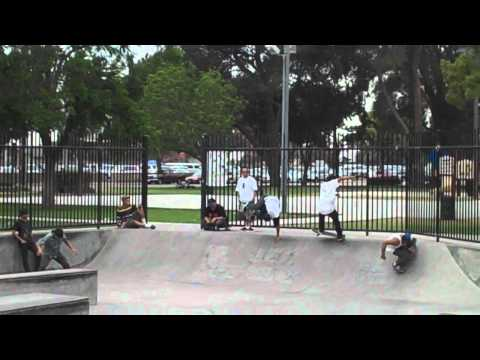 West Covina skatepark Montage