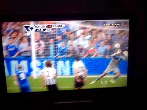 goal Torres / Hazard Chelsea vs Newcastle