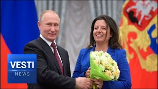 Simonyan Personally Honored by Putin! Says Assange the Real Unsung Hero of Journalism!