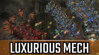 Lucurious mech l StarCraft 2: Legacy of the Void Ladder l Crank