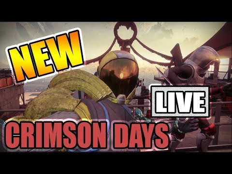 NEW CRIMSON DAYS DOUBLES GAMEMODE DESTRUCTION!! Destiny 2 LIVE STREAM