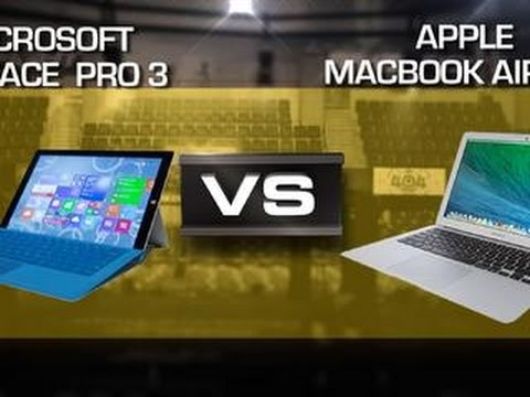 Microsoft Surface Pro 3 vs. MacBook Air 13