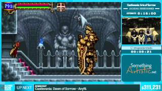 Castlevania: Aria of Sorrow by Dragondarch in 15:46 - Summer Games Done Quick 2015 - Part 57