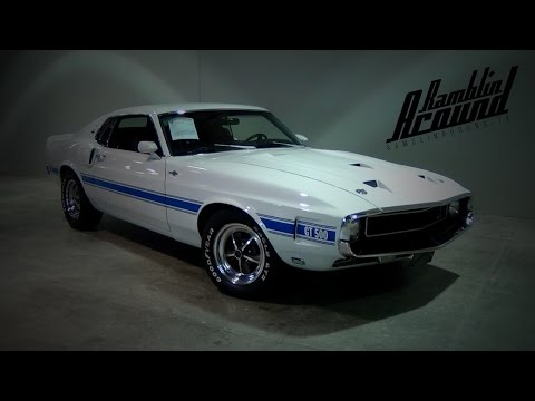 1969 Shelby GT500 428 Cobra Jet V8 Four-Speed