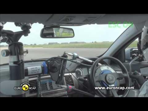 Euro NCAP | Jaguar  XF | 2011 | Электронный контроль устойчивости
