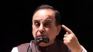 Dr Subramanian Swamy speech during Breaking India book release function
