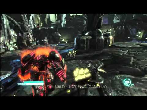 First Exclusive Grimlock Gameplay Of Transformers Fall Of Cybertron HD