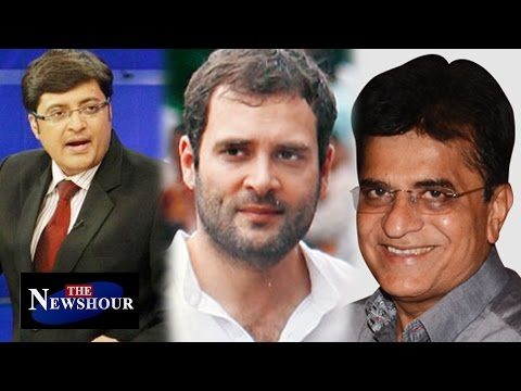 BJP MP Kirit Somaiya Links Agustawestland Chopper Scam to Rahul Gandhi's Aide | Exclusive