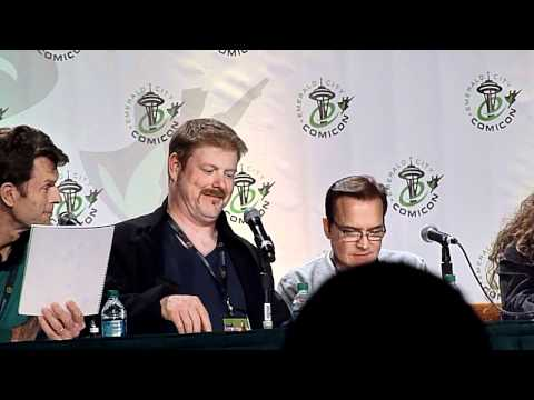Voice Actors reading Star Wars script panel clip 4