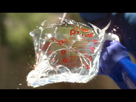 Glass Explosion at 343.000FPS! - The Slow Mo Guys