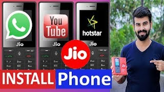 How to Download WhatsApp and Youtube on JIO Phone ll Jio Phone Me WhatsApp or Youtube Kaise Chalaya