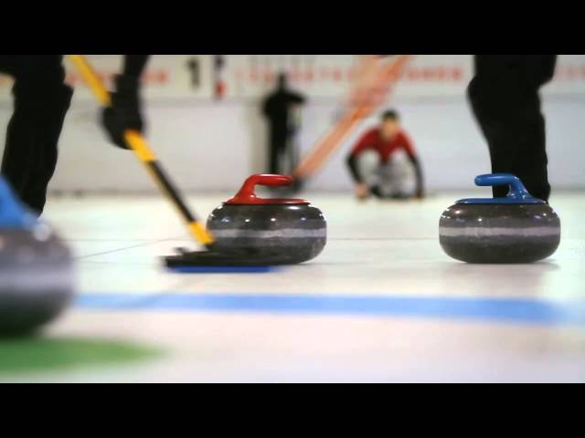 Curling Television Commercial- Johnny 'The Hammer' Chow - Team Red
