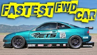 4-Cylinder Integra went 200MPH!?