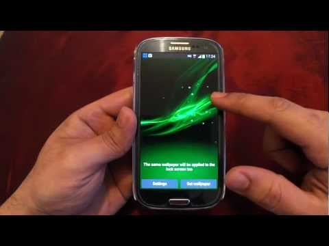 BEST ANDROID LIVE WALLPAPERS ON SAMSUNG GALAXY S3 GT I9300 REVIEW 7