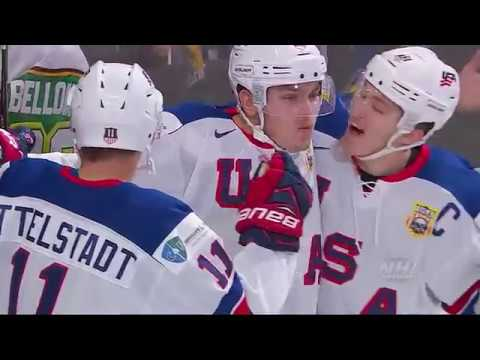 2018 WJC: Highlights - USA 4, Russia 2 (Quarterfinals)