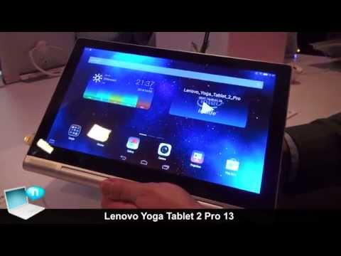 Lenovo Yoga Tablet 2 Pro 13 with pico projector