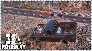 GTA 5 Roleplay - Police Officer Rams Me Down 'HUGE' Cliff | RedlineRP #219