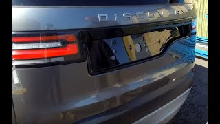 """How to upgrade Land Rover Discovery 5 rear tailgate / bumper to """"Dynamic"""" specification."""