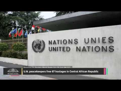 U.N. Peacekeepers Free 67 Hostages In Central African Republic - TOI