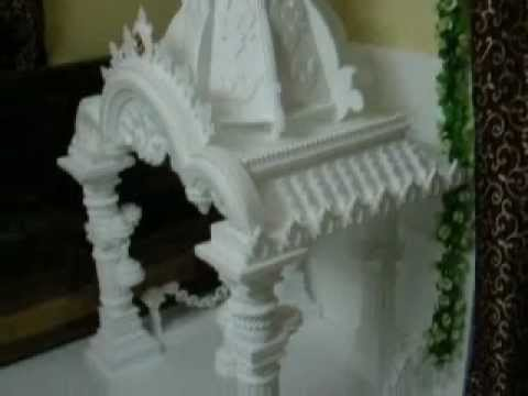 Thermocol Art...One of my creations....Ganpati Puja 2012 (Makhar)......Sunil I. Satai
