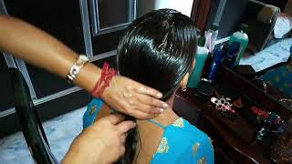 Hair Oiling And  FREANCH BRAID Hair Style (VIEWER REQUESTED VIDEO )