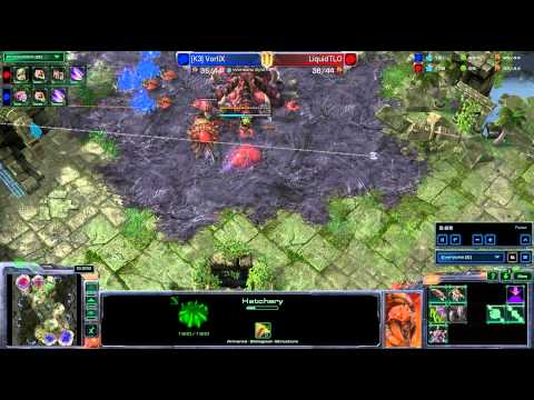 HD Starcraft 2 Vortix v TLO ZvZ Heart of the Swarm