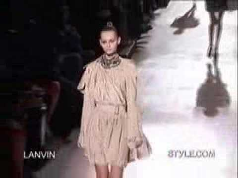 Styledotcom - Fashion Week in Paris, Spring 2007 Collections