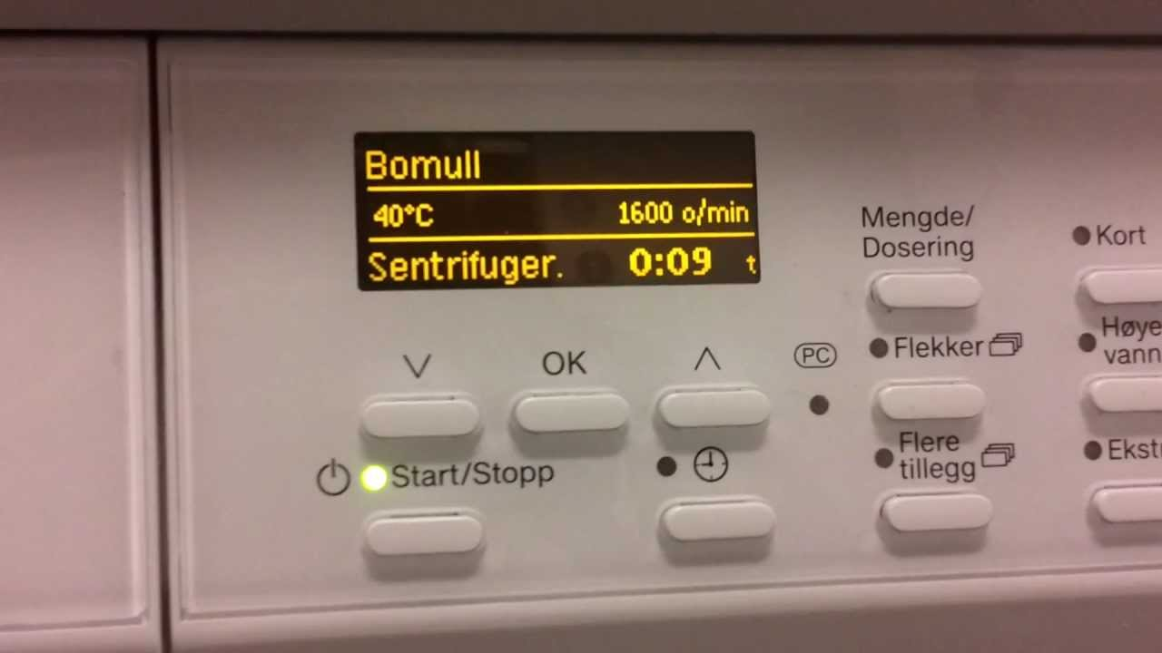 washing machine make noise when spinning
