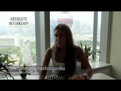 Intern Profile: Paula - Business Internship in Shanghai (Español)