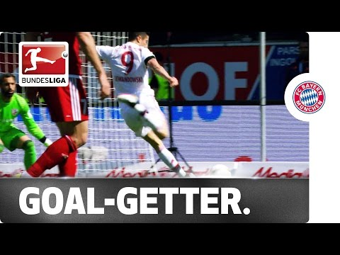 Lewandowski's 28th & 29th Goals Secure Title for Bayern