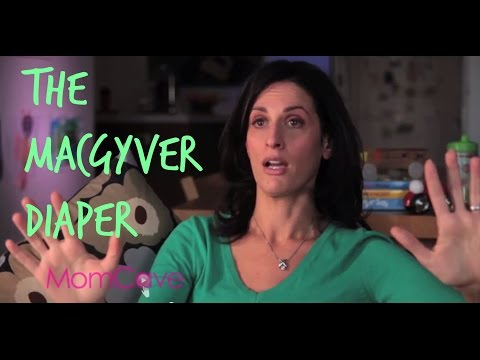 Naomi Blabs About MacGyver Diaper | BLABBERMOM | Ep11 | MomCave TV | Diapers Babies Poop Nappy