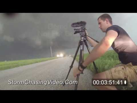 5/31/2013 Union City, OK Extreme Tornado Stock Footage 60P