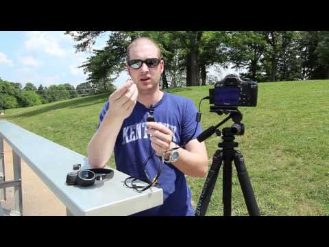 How To Hook Up Wireless or Wired Audio Monitoring with Magic Lantern For Canon Cameras