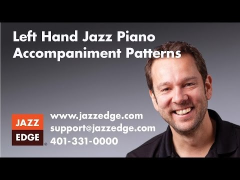 Piano Lesson Tutorial 10 Standard Left Hand Patterns for piano