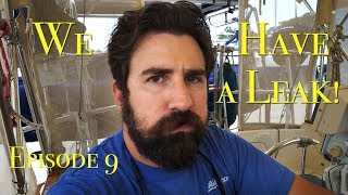 There's a leak! Downsizing Living on a yacht, but no sailing. The Boat Life adventure travel vlog