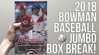 2018 Bowman Baseball - Jumbo Box Break!