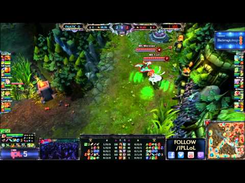 World Elite vs Team FNATIC - Grand Finals - Game 1 - IPL 5