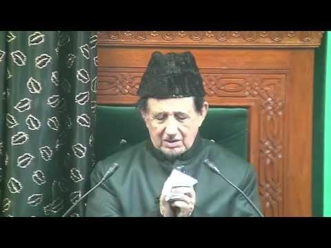 Eve 2nd Muharram 1437 - Maulana Dr. Kalbe Sadiq (Urdu)